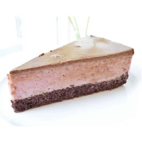 fitlife cukormentes cukrászda paleo csokis eperkrém torta