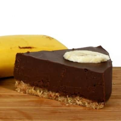 fitlife cukormentes vegán banános brownie