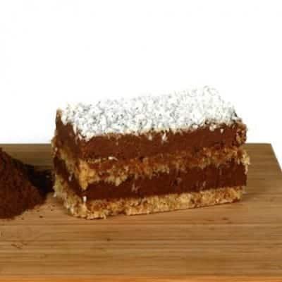 fitlife cukormentes vegán bounty torta