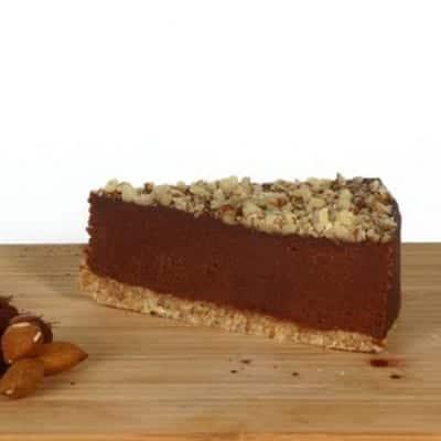 fitlife cukormentes vegán brownie torta