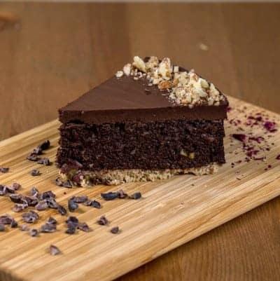 fitlife cukormentes vegán duplacsoki torta