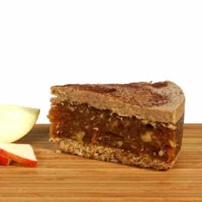 fitlife cukormentes vegán fahéjas almatorta