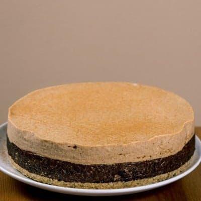 fitlife cukormentes vegán fahéjas aszalt szilva torta