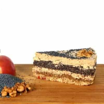 fitlife cukormentes vegán flódni torta