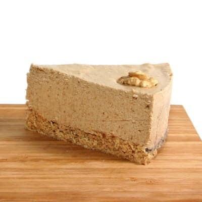 fitlife cukormentes vegán kávés diós torta