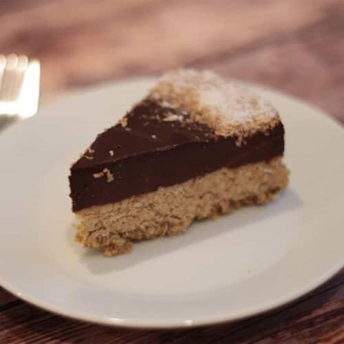 fitlife cukormentes vegán kókuszos csoki torta