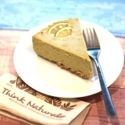 fitlife cukormentes vegán bazsalikomos lime torta