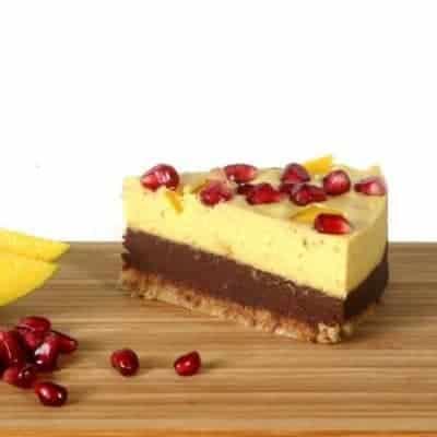 fitlife cukormentes vegán mangós csokitorta
