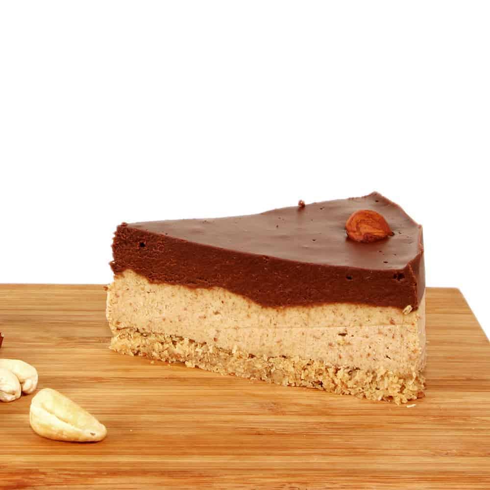 fitlife cukormentes vegán mogyorós kesudiós torta
