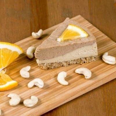 fitlife cukormentes vegán narancsos kesudió torta